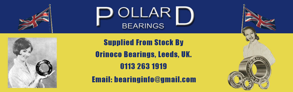 Pollard Bearings Supplied From Stock